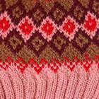 Pink Jade.-Multicolor 4 Cabin Alpaca Kids Hat