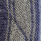 Lins Alpaca Fingerless Gloves in Denim-Grey Mlge