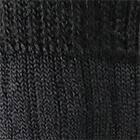 Black Alpaca Heavy Boot Unisex Socks