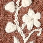 Amber Melange Sunflower Baby Alpaca Fingerless Gloves