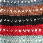 Multicolor55 Cusco Alpaca Fingerless Gloves