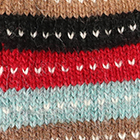 Multicolor56 Cusco Alpaca Fingerless Gloves
