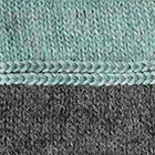 Teal Melange-Charcoal Danna Baby Alpaca Fingerless Gloves