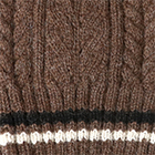 Brown Heather Angelle Alpaca Knit Hat