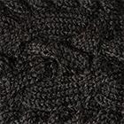 Black Braided knit Alpaca Headband