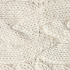 Natural Braided knit Alpaca Headband