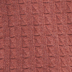 AmberMelange-Brown Joseph Zip Neck Alpaca Sweater