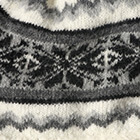 Natural-Charcoal Nordic Brushed Alpaca Hat