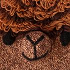 Mix.-Beige-Brown Alpaca Kids - Alpaca Hat
