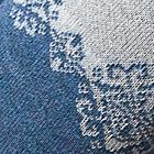 Sky Mlge.- Natural Giacca Half-Zip Alpaca Sweater