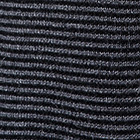 Grey Rustic Stripes Alpaca Cardigan