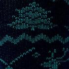 Black-Green Alpaca Reindeer Unisex Socks