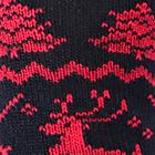 Black-Red Alpaca Reindeer Unisex Socks