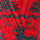 Red-Green Alpaca Reindeer Unisex Socks