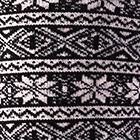 Black-Beige Alpaca Nordic Socks