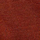 Dark Rust. Baby Alpaca Round Neck Pullover