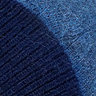 Navy-Denim Unisex Reversible knit English Alpaca Hat