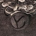 Grey Alpaca Kids - Alpaca Hat with Ear Flaps