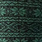 Black-Green Alpaca Nordic Socks