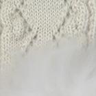Natural-FurNatural Presley Alpaca Fingerless Gloves with Fur