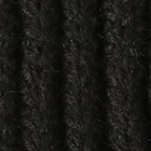 Black Aubrey Alpaca Knit Fingerless Gloves