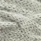 Lt. Grey Braided knit Alpaca Headband