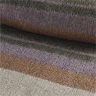 C0385-Brown Heather/Lilac/Beige Alpaca Cherokee Blanket