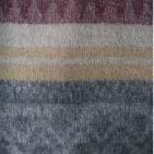 C0300-Grey/Camel/Sand Mlge. Alpaca Cherokee Blanket