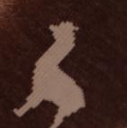 Brown Heather-Beige Alpaquita Unisex Socks