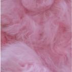 Pink PREMIUM Baby Alpaca Fur - Classic Ornament 13 inches