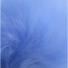 Powder Blue PREMIUM Baby Alpaca Fur - Classic Ornament 13 inches
