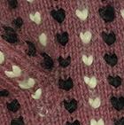 Palo Rosa Mlge.-Multicolor Alpaca Thrummed Mittens
