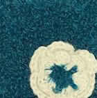 Blue Ocean Boucle Alpaca Hat