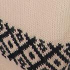 Beige-Black Ebora Alpaca Sweater