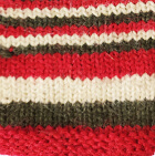 Multicolor  103 Junior Striped Alpaca Fingerless Gloves