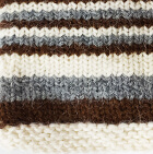 Multicolor 101 Junior Striped Alpaca Fingerless Gloves