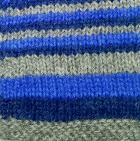 Multicolor 13 Junior Striped Alpaca Fingerless Gloves