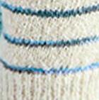 Natural Brushed Striped Alpaca Fingerless Gloves
