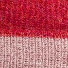 Coral Mlge.-Ballet Rose Mlge. Unisex Reversible knit English Alpaca Hat