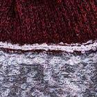 Charcoal-Burgundy Mlge. Shipibo Alpaca Boucle Hat with Ear Flaps