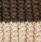 Olive-Beige Knitted Alpaca Hat with Flower Bow