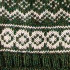 Green Mlge. Arctic Alpaca Hat - Fleece Lining