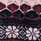 Black-Comb 2 Natura Alpaca Knit Hat - Fleece Lining