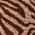 Taupe Mlge.-Brown Zebra Alpaca Socks
