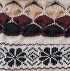 Natural-Comb 2 Natura Alpaca Knit Hat - Fleece Lining