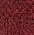 Burgundy Mlge. Ivane Alpaca Sweater
