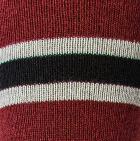 Black-Cherry-Silver Grey Multi Striped Simply Alpaca Socks