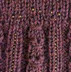 Palo Rosa Mlge. Alpaca Cable Fantasy Fingerless Gloves