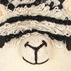 Natural Comb 2 Alpaca Kids - Alpaca Hat with Ear Flaps