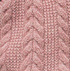 Ballet Rose Mlge. Classic Cable Alpaca Scarf